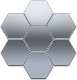 Hexagonal Logo Shape